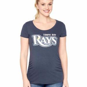 Maternity Graphic Tee Tampa Bay Rays Short Sleeve
